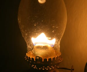 flame, bedside light, and lamplight image