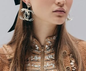 beauty, chanel, and earring image