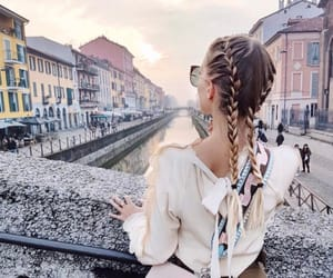 fashion, travel, and hair image