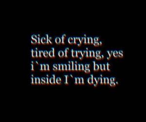 sad, feelings, and sadness image