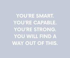 motivation, smart, and strong image