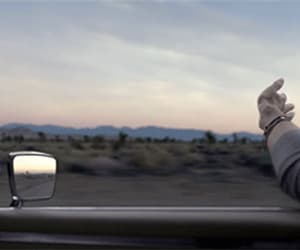dawn, drive, and desert image