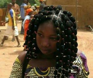 braid, natural hair, and banding image