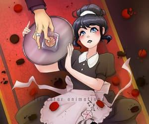 adrian, ladybug, and maid image