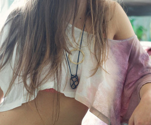necklace and shirt image