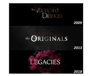 The Originals, the vampire diaries, and legacies image