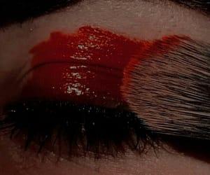 badass, brush, and eye image