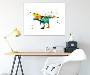 abstract, dinosaur, and kids room image