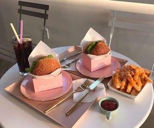 burgers and food image