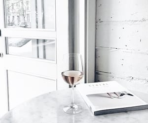 white, drink, and luxury image