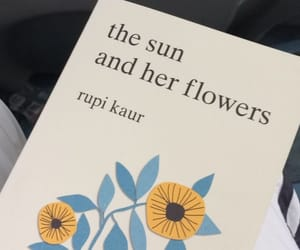 book and the sun and her flowers image