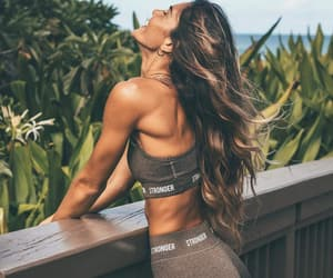 abs, hair, and rest image