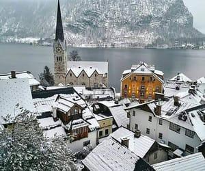 arquitectura, Ciudades, and invierno image