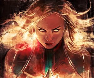Avengers, carol danvers, and captain marvel image