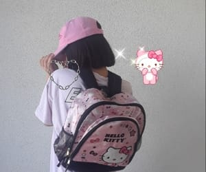 cyber, hello kitty, and fashion image