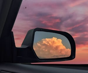sky, sunset, and clouds image