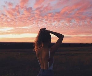 beauty, hairstyle, and summer image