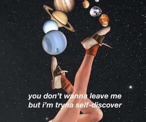 aesthetic, Lyrics, and planets image