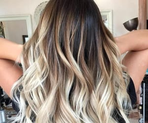 blonde, curly, and curls image
