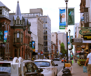 buildings, downtown, and halifax image