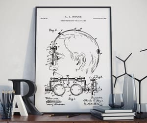etsy, ophthalmology, and patent prints image