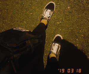 levis, night, and vans image