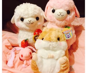 alpaca, doll, and fofo image