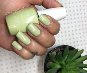 long nails, nails, and opi image