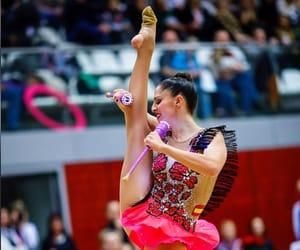 clubs, carolina rodriguez, and rhythmic gymnastics image