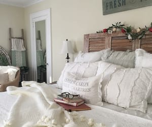 bedroom, home, and country living image