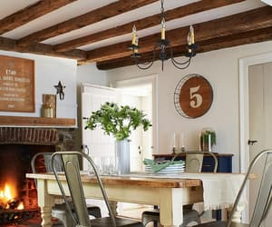 country living, decorating, and interiors image