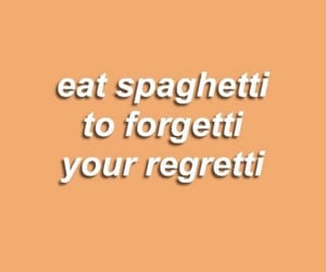 quotes, spaghetti, and orange image