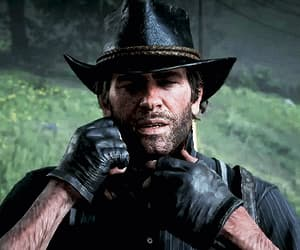 gif, red dead redemption 2, and arthur morgan image
