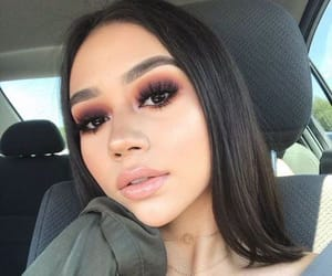 eyes, highlight, and lipstick image