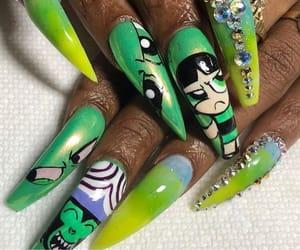 disney, nails, and nails art image