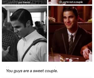 darren criss, blaine anderson, and chris colfer image