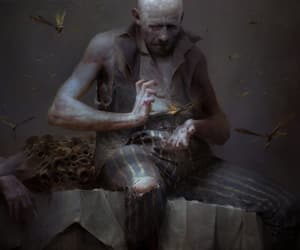 art, creepy, and game image