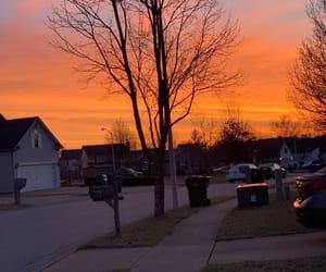 blood orange, city, and neighborhood image