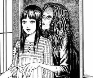 manga, creepy, and horror image