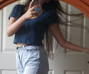 belt, blue, and hair image