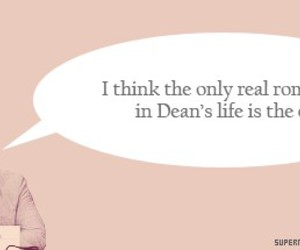 car, dean winchester, and funny image