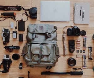 adventure, hobby, and bag image