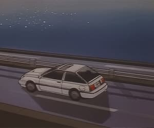 anime, drive, and ocean image