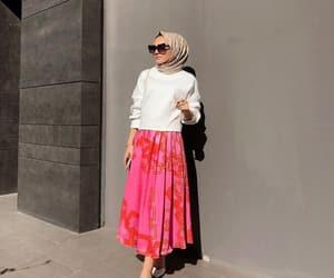 fashion, inspiration, and hijâbi image