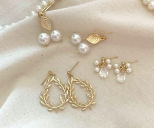 accessories, aesthetics, and earrings image