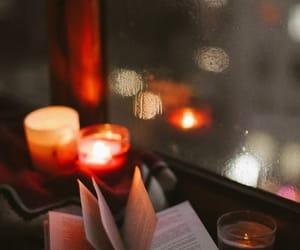 books, night, and rain image