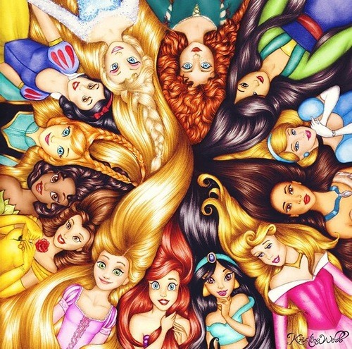 If Disney Princesses Were Real Aesthetic On We Heart It