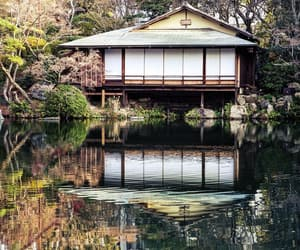 house, japan, and nature image