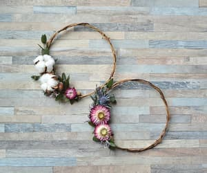 etsy, country decor, and cotton wreath image