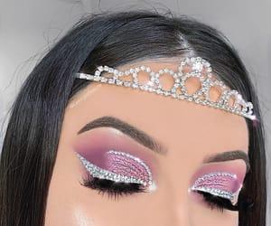 beauty, eye make up, and fashion image